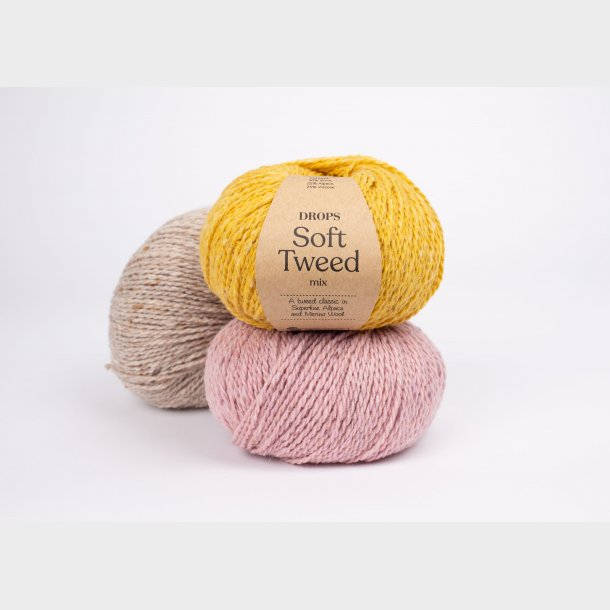 DROPS Soft Tweed Garn